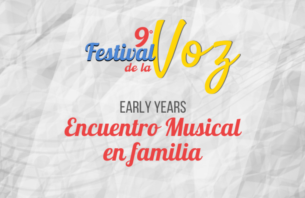 Encuentro Musical en Familia de Early Years