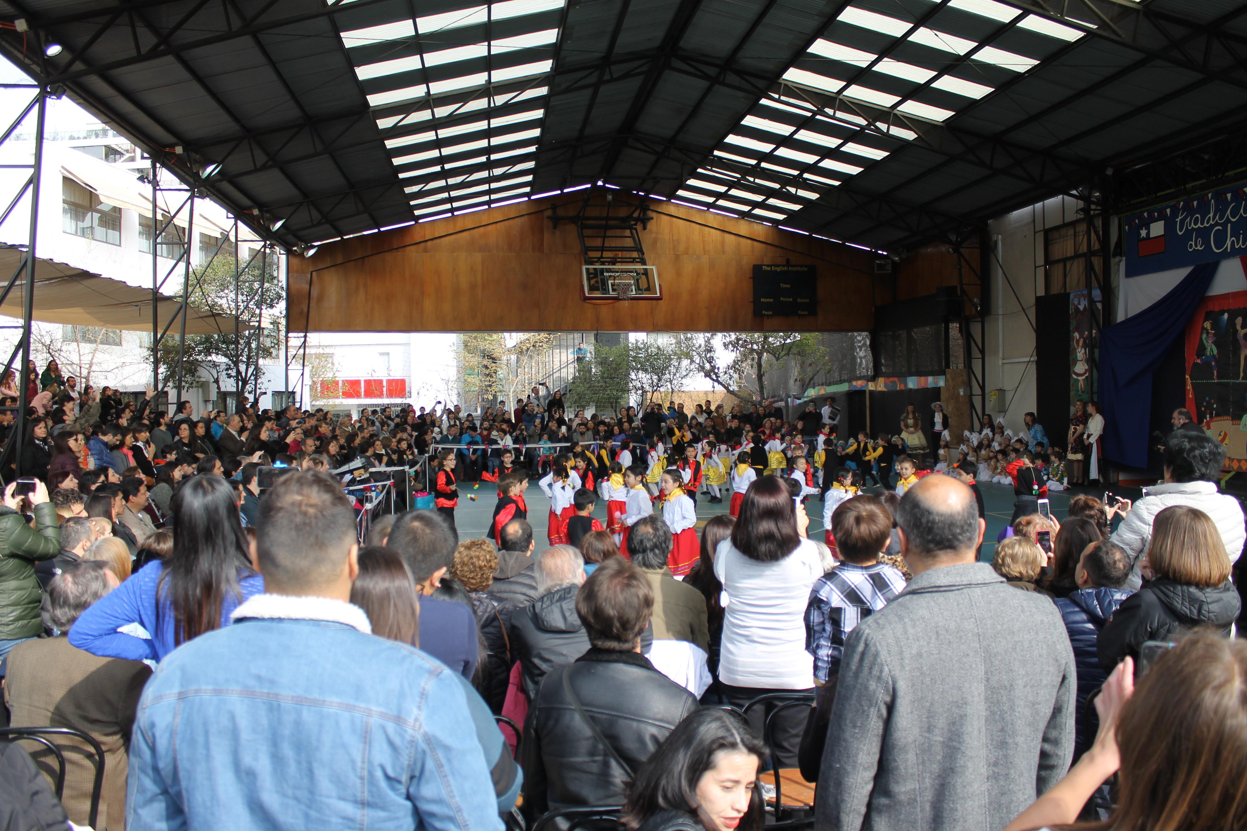 Gran fiesta de la Chilenidad en el TEI