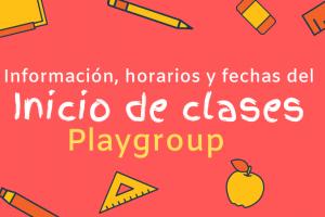 Playgroup: todo lo que necesitas saber para los primeros días de clases