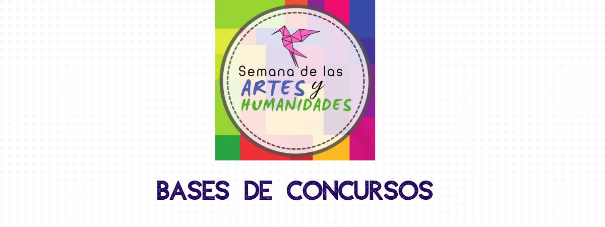 Bases de Concursos Días de las Artes y Humanidades 2019