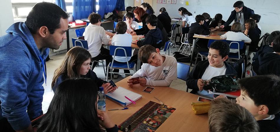Compartimos nuestra metodología de juegos con el Colegio Dunalastair
