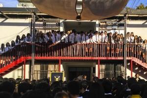 Se llevó a cabo la tradicional Ceremonia de Entrega de Corbatas a los IV° Medios