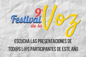 Festival de la Voz 2020: Cuando la música borra las distancias.
